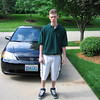 Jack Leaving for 1st Day at Westwood Country Club<br /> May 2004