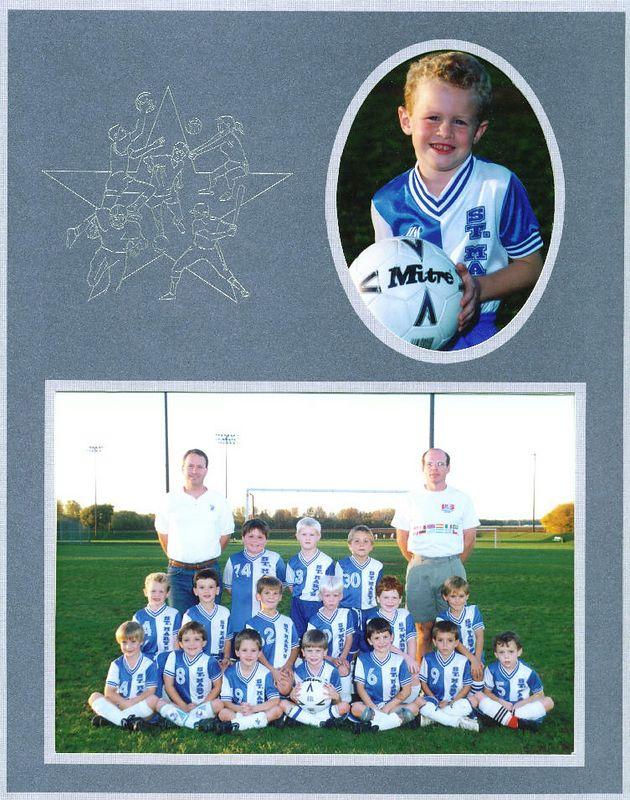 <big>Jack - 1st Grade Soccer</big><BR> St. Mary's  - 1994