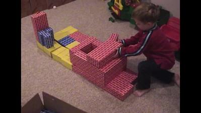 Cardboard Bricks