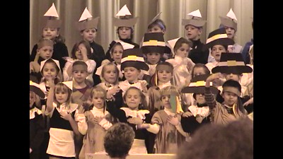 Choir - Thanksgiving - 1st Grade