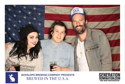 Jackalope Presents Brewed in The U.S.A.