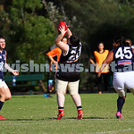 17-5-15. AJAX Jackettes v Rosebud. Gary Smorgon Oval. Photo: Peter Haskin