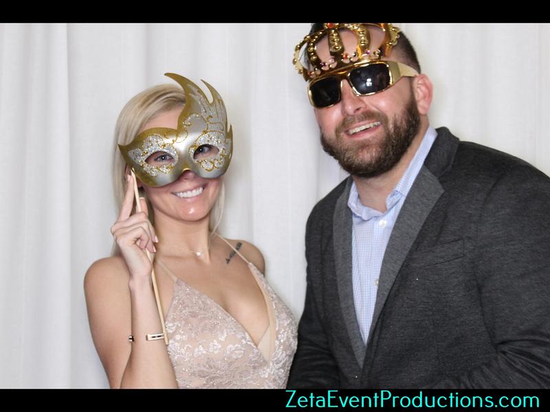 Jackie & Austin Wedding Photo Booth