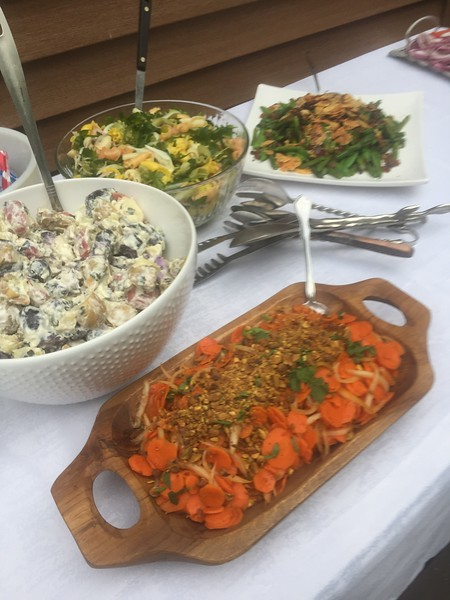 Jackie Gordon Harissa Carrot Salad with Nuts