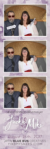 We had an awesome time snapping photos and celebrating Jackie and Mike's wedding! Congrats to the newlyweds!  Love this photo? Head to findmysnaps.com/Jackie-Mike to order prints and more!  Looking for an awesome photo booth for your next event? Head to bluebuscreatives.com for more info.