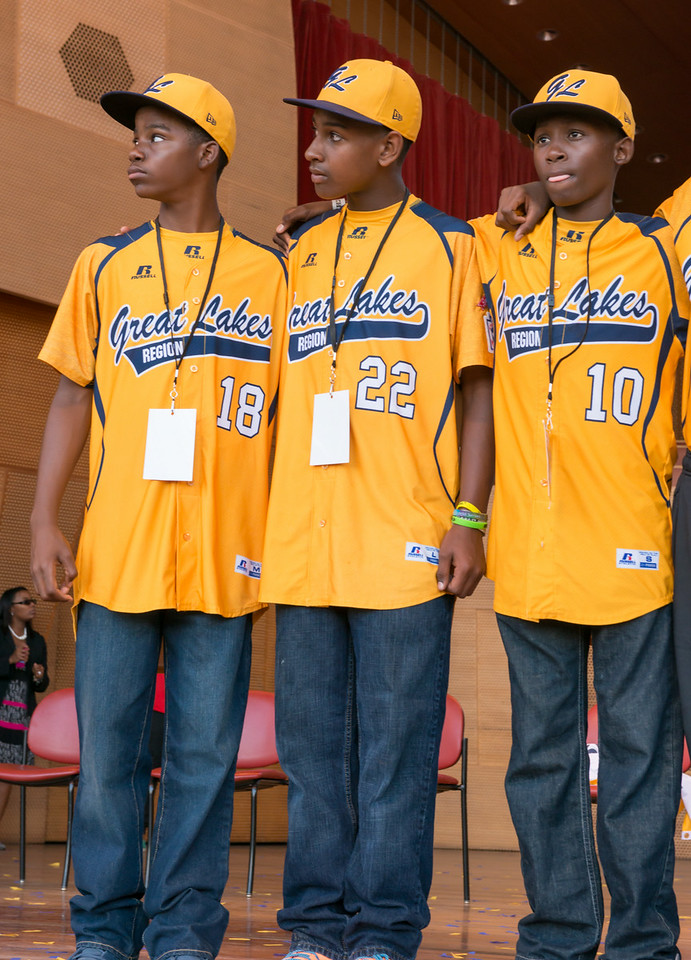 Jackie Robinson West Celebration Rally at  Millennium Park