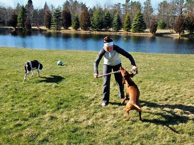 Alicia & Dogs(: