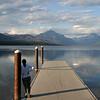 2008 Jackie at Lake MacDonald, Glacier Park Montanna