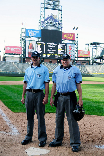 Chip & Son - March 18th 2010 at Coors Field