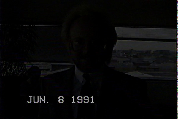 Tom from 1991 with Tiny Tim - KOA