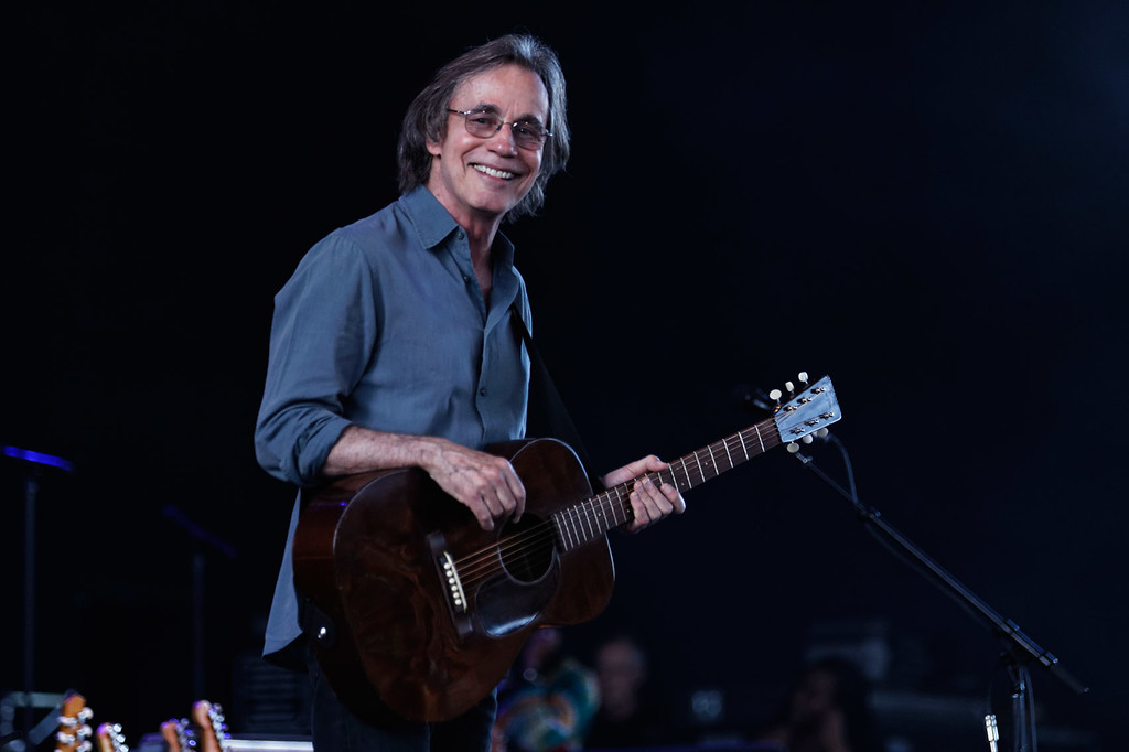 . Jackson Browne  live at MI. Lottery Amphitheatre on 6/8/2018.  Photo credit:   Ken Settle