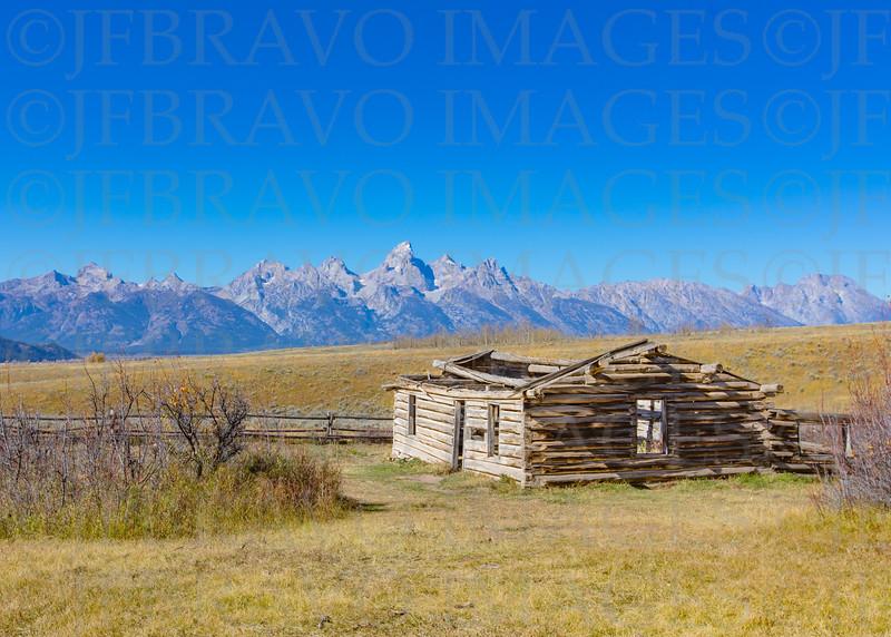 Gros Ventre cabin