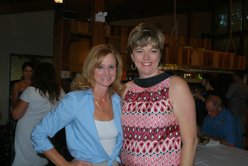 Tracy Mulvenon and Angela Belford