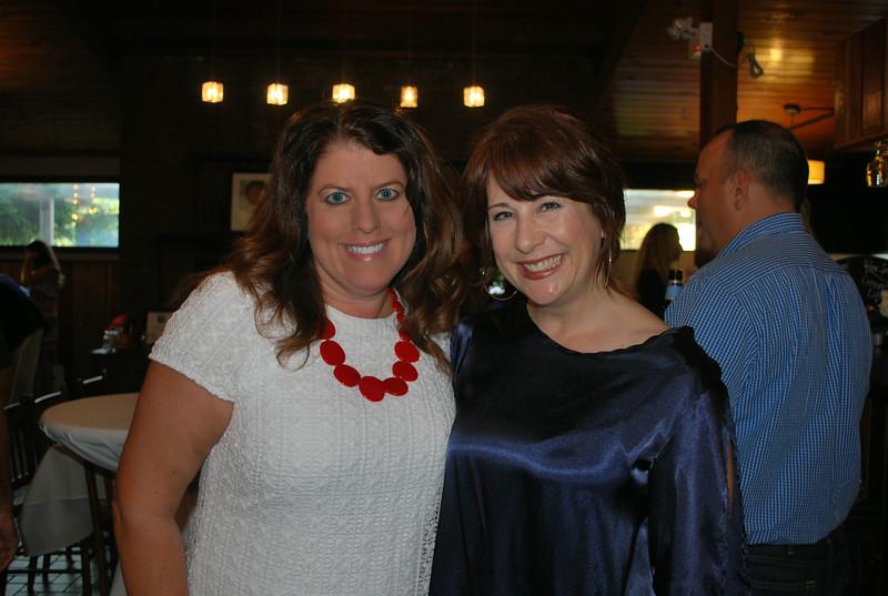 Karen Boston and Kelly Zega