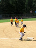 September 13, 2009 - Warm-up for Jack's first T-ball game.