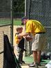 September 20, 2009 - Jack's second T-ball game.