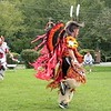 Native American dancing.