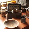 Collection of soap-making items.