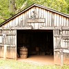 Blacksmith shop, not to be confused with farrier.