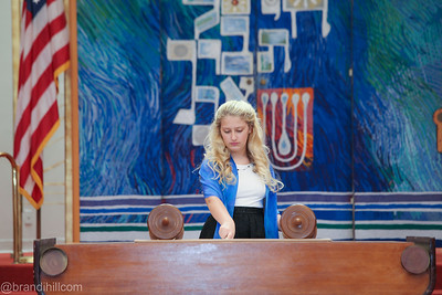 Abigail Fixel's Torah and Family Potraits, Jacksonville Jewish Center