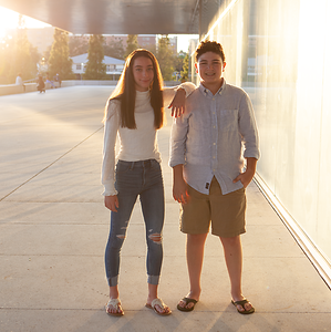 Braden & Alya's Pre- Mitzvah Portraits