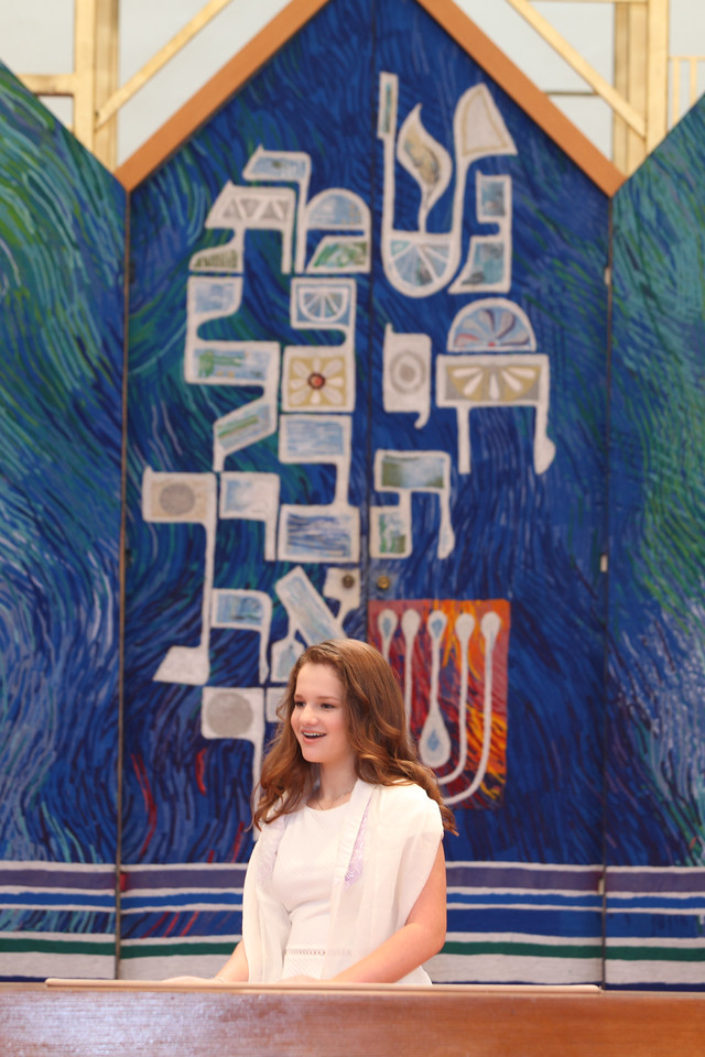 Allie's Torah and Family Portraits
