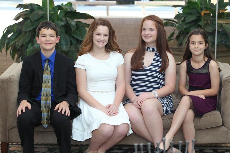 Allie's Torah and Family Portraits