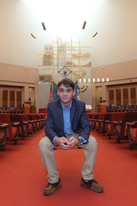 Parker's Bar Mitzvah Portraits at Jacksonville Jewish Center