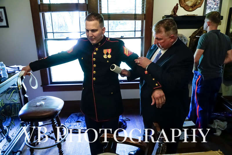 Jamie and Richard Wedding  - October 2018 - The Hilliard Mansion - VB Photography-16