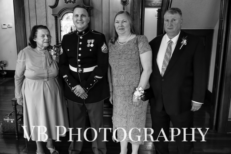 Jamie and Richard Wedding  - October 2018 - The Hilliard Mansion - VB Photography-22