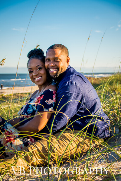 Shamia and Kendrick Engagement