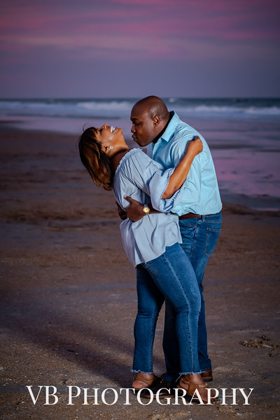 Keisha and Michael Engagement  - March 2019-77