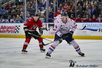 Jacksonville Icemen Vs Adirondack Thunder