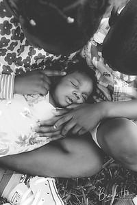 Chidi & Mmiso welcome baby Kamara