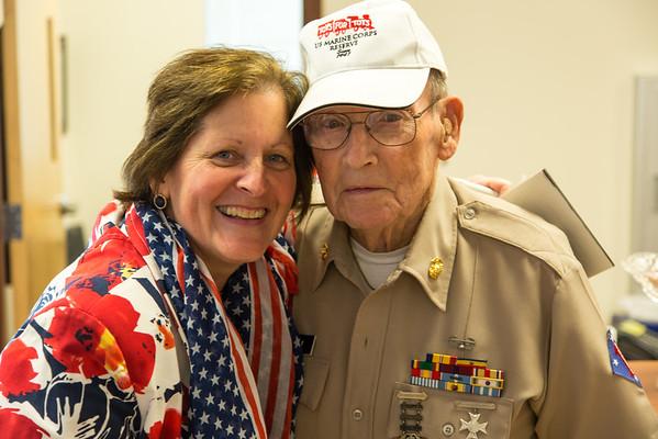 JSC Veterans Day Recognition 2016