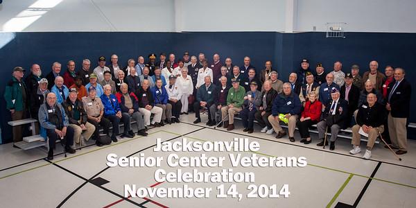 Jacksonville Senior Center Veterans Day 2014