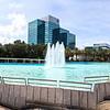 RIver Park Fountain Panorama