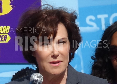 Jacky Rosen At Protect Our Care Bus Tour In Las Vegas, NV