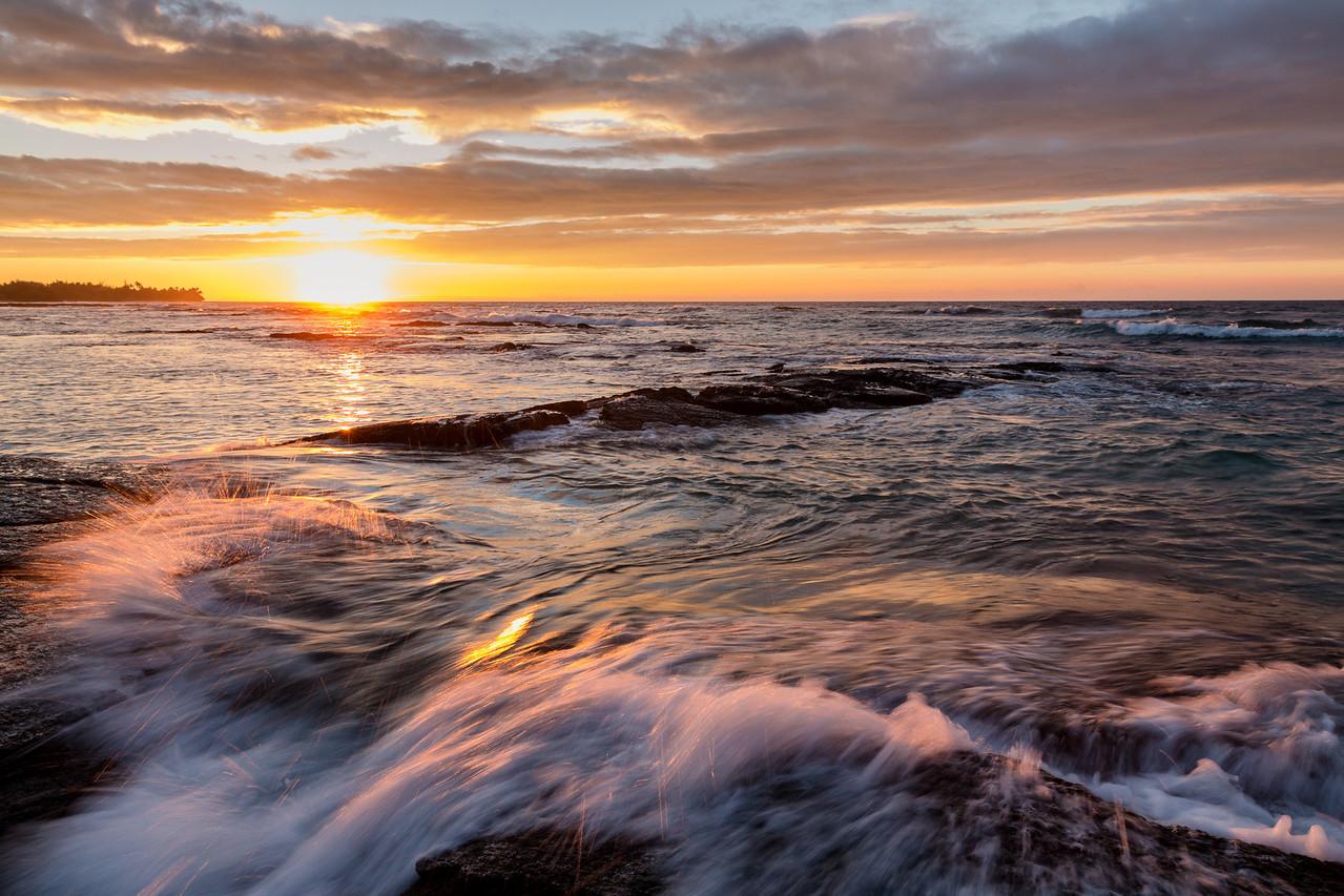 Sunset at Puako