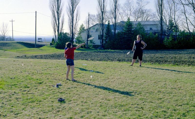Lawn Badminton