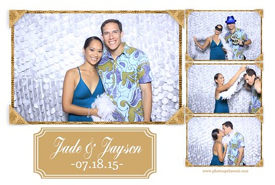 Jade + Jayson Wedding (Fusion Photo Booth)