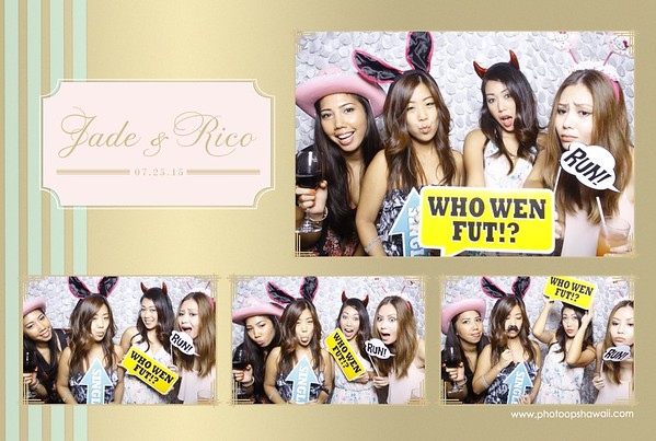 Jade + Rico Wedding (Fusion Photo Booth)