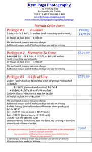 Microsoft Word - Kym Puga Photography Portrait Order Form.docx
