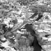 Looking north. River Street, North Street, Main Street, Peterborough Street, Contoocook River. January 5, 1980.