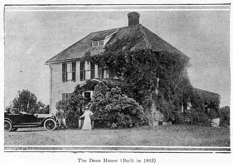 The Dean House (Built in 1893). Page 10.