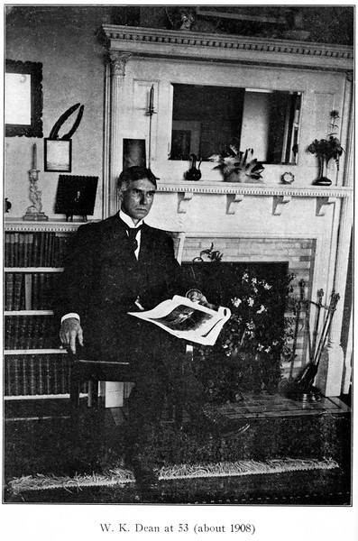 Dr Dean at 53, ca. 1908. Page 1