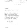 Page 1. Cover Letter January 14, 1919. Dekerlor to Dalton.