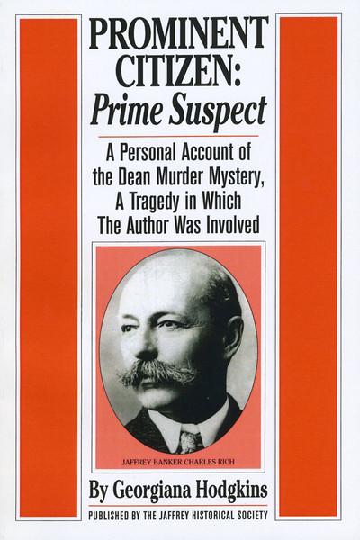 Georgiana Hodgkins' 'Prominent Citizen:Prime Suspect.'