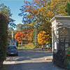Entrance to the Mt Hope Cemetery where Dr Dean is buried.