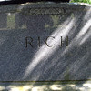 Gravesite of Charles Rich and his wife, Conant Cemetery, Jaffrey, NH.